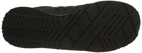 Calvin Klein Jeans Evert, Baskets Homme Noir (Blk)