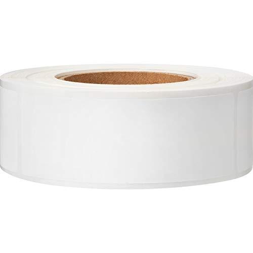 300 Stücke Abnehmbare Gefrierschrank Etiketten 1 x 3 Zoll Lebensmittel Lagerung Aufkleber Kühlschrank Gefrierschrank Papier Etiketten (Leer Weiß)