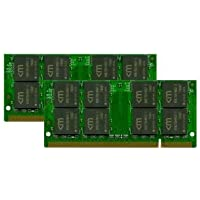Mushkin Enhanced 2GB (2 x 1GB) 200-Pin DDR2 SO-DIMM 533 (PC2 4200) Dual Channel Kit Laptop Memory Model 991479