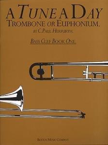 A Tune a Day vol.1: for trombone (euphonium, baritone)