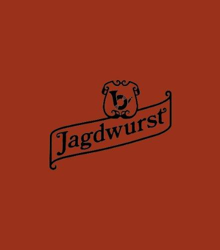 "Kunstdarm top braun Kaliber 90/50 Druck: ""Jagdwurst"""