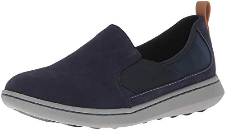 Clarks Wouomo Step Move Jump scarpe da ginnastica, ginnastica, ginnastica, Navy Synthetic, 100 M US | prendere in considerazione  45f158