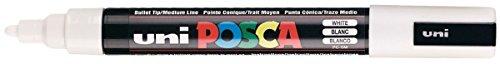 uni-posca-pc-5m-white-colour-paint-marker-pens-25mm-medium-bullet-tip-nib-writes-on-any-surface-meta