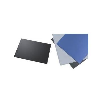 Grau Schreibunterlage (Helit H2522782 Schreibunterlage mit transparenter Klappe, 63 x 50 cm, grau)