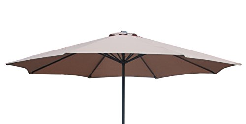 brand-new-3m-replacement-parasol-fabric-covers-for-8-arm-parasol-taupe