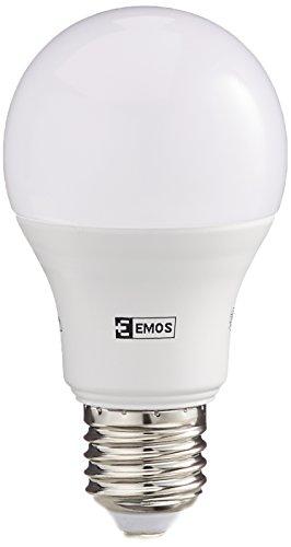 EMOS LED Glühlampe Classic A60 14W E27 neutralweiß, Glas, 14 W, Transparent, 6,2 x 6,2 x 13 cm
