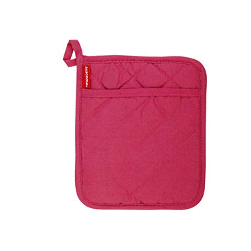 Isolationshandschuhe Hochtemperatur-Verbrühschutzhandschuhe mit Isolationspad Einbrennofen Mikrowelle Verdickungshandschuhe (Color : Red, Style : Insulation pads)
