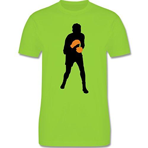 Kampfsport - Boxer - Herren Premium T-Shirt Hellgrün