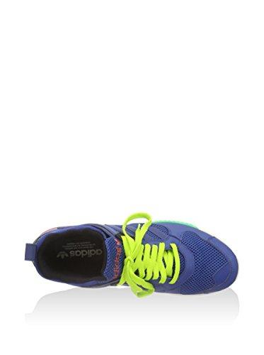 adidas ,  Herren Turnschuhe blau/fluo gelb