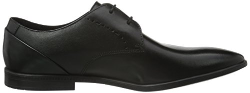 Clarks Herren Bampton Lace Derby Schwarz (Black Leather)
