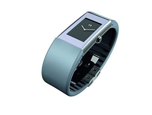 Rosendahl 43179 - Reloj de mujer de cuarzo, correa de caucho color azul claro