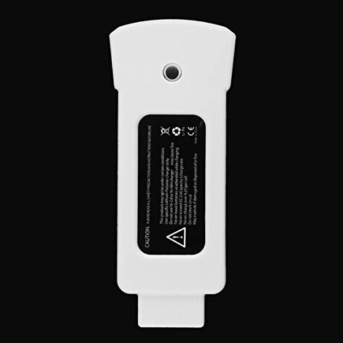 Noradtjcca 1 Batteria al Litio polimero al Litio da 11,1 V 1700 mAh 18,87 Wh per Sostituzione Leggera del Drone Yuneec Breeze per videocamera Volant