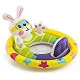 """SeeMe Sit Pool Float, Inflatable Kiddie Swim Pool Water Float Ring Tube Boat For Kids Ages 3-4 Years - 32"""" X 23""""(81cm X 58cm)"""