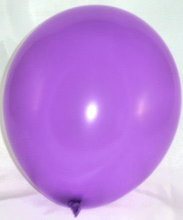 (50 Stück LOLLIPOP Latex-Rundballon, lavendel / flieder / lila, ca. 30 cm Ø, ca. 90/100 cm Umfang)