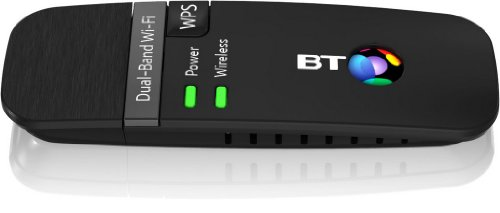 BT 600 Dual-Band Wi-Fi USB Dongle - Black