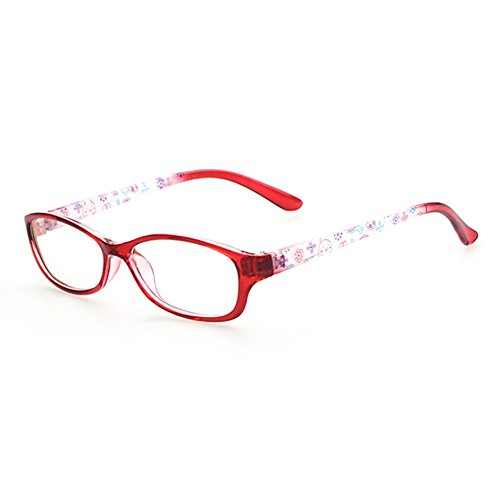 Mädchen Junge Brillen - Kunststoff Brillenfassung Transparente Linsen Lesen Gläser für Baby Kinder Unisex