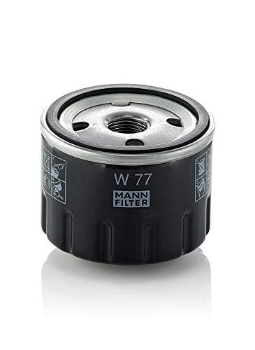 Original MANN-FILTER Ölfilter W 77 - Für PKW und Nutzfahrzeuge