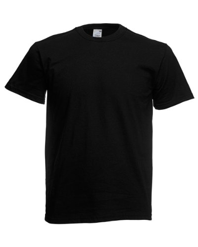 Fruit of the Loom Original T-Shirt Black - XXL