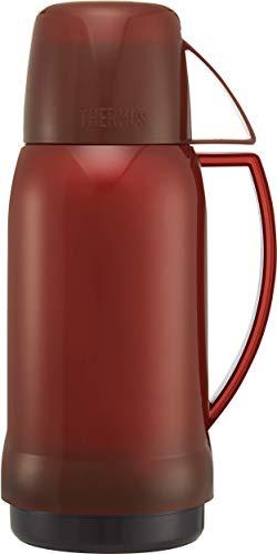 Thermos Jupiter 38 Thermosflasche mit Glaseinsatz, 0,5 l, rot/blau Sortiert