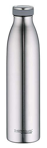 ThermoCafé by THERMOS 4067.205.075 Thermosflasche TC Bottle, Edelstahl mattiert 0,75 l, 12 Stunden heiß, 24 Stunden kalt, BPA-Free
