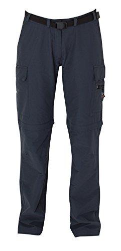 Preisvergleich Produktbild DEPROC-Active Damen Elastische Hose Kenora Zip-Off,  Anthracite,  46,  54997-080