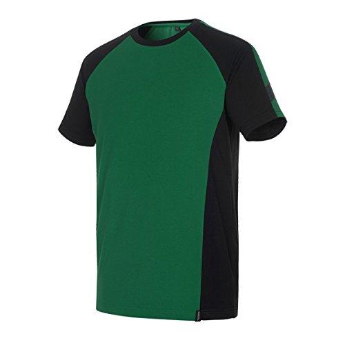 Mascot T-Shirt zweifarbig 50567 rot/schwarz