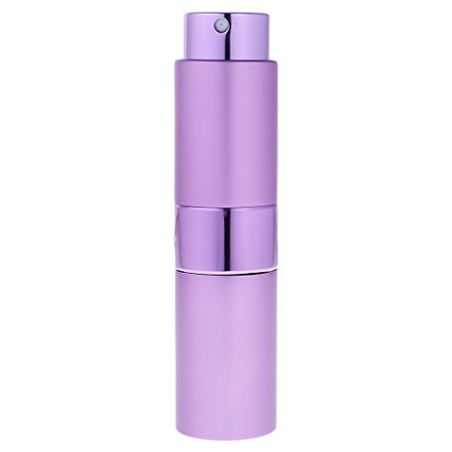 MagiDeal 15ml Parfümzerstäuber Parfüm Spray Flasche Zerstäuber Nachfüllbar Leicht Tragbar für Reisen - Lila