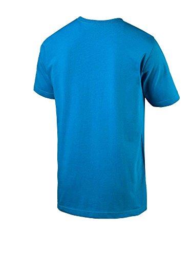 Puma Herren Sneaker Photo Tee T-Shirt Blue