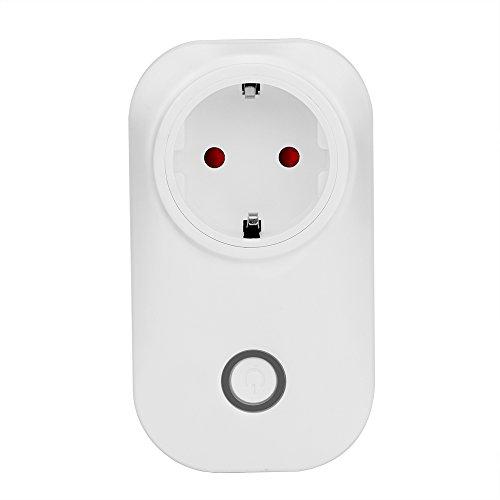 Preisvergleich Produktbild AOZBZ WLAN Smart Steckdose Schalten für Alexa ( Amazon Echo/Echo Dot ) und eWeLink App Steuerung, Sonoff 2,4G WIFI Stecker Schalter Funk Intelligente Socket Switch Timer für IOS und Android