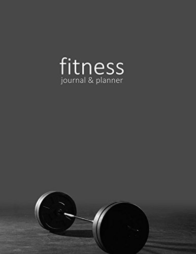Fitness Journal & Planner: Workout and Exercise Log for Personal or Competitive Training (15 weeks in a large softback with a page per day; it's from our Weights Gym range) (Exercise & Fitness Gifts) por smART bookx