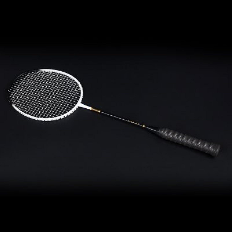 QingYuRaqueta De Bádminton, Carbón Total, Disparo Único, Ofensivo, 4U5U Película Negra Ultra Resistente A La Luz  -