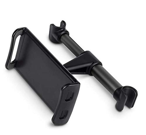 yebbt Rotation Car Mount Backseat Headrest Mount Tablet Holder for 7 to 10 Inch Apple iPad, ASUS, HTC, Sony, Samsung Galaxy Tab A, Tab S, Tab 4,Tab 3, Tab Pro 8.4, Note 8 and More.schwarz (Apple Mount Ipad 2 Air Headrest)