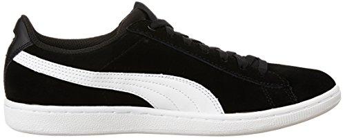Puma Vikky, Baskets Basses Femme Noir (Puma Black-puma White 02)