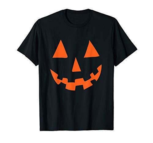 Kürbis Gesicht Tshirt | Pumkin 2019 Gruselig Spuken  (31. Oktober Halloween-2019)