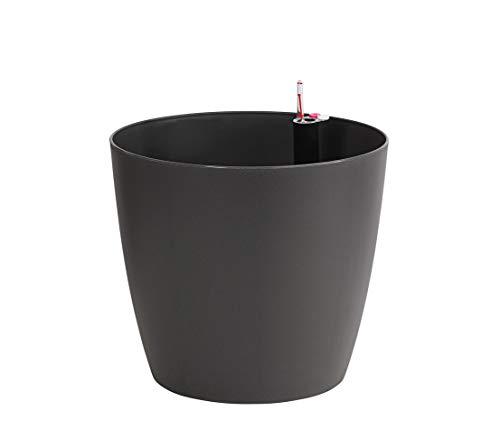 Diameter 52/cm Height 20/cm Plastic Dehner Spherical Bowl Anthracite