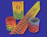 Enlarge toy image: 12 x Mini Smiley Springs - Party Bag Fillers -  preschool activity for young kids