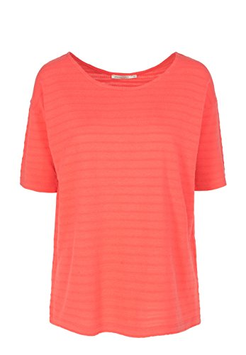 ARMEDANGELS Damen T-Shirt aus Tencel®-Mix - Alaia - S coral red