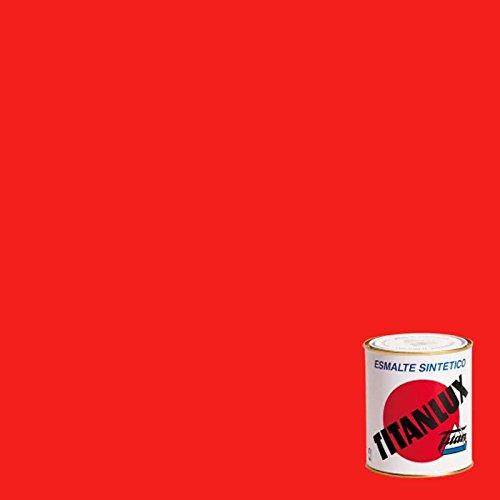 Titanlux, Esmalte sintetico brillante, Rojo