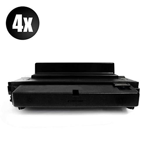 4X Eurotone XXL Toner für Xerox Phaser 3600 V N EDN Ednm EDM B EDNM NM ersetzt 106R01371 - Phaser 3600 Laserdrucker