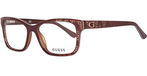 GUEX5 Damen Brillengestelle Brille GU2553 53050, Braun, 53