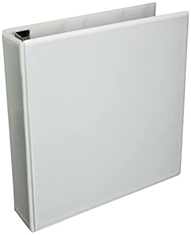 Avery Extra-Wide Ezd Reference View Binder, 2 Inch Rings, White, 1 Binder (01320)