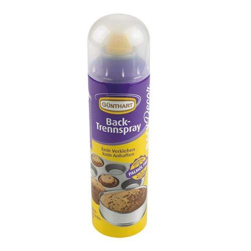 Günthart BackDecor Backtrennspray- Trennspray zum Backen, Palmölfrei, 1er Pack (1 x 200 ml)