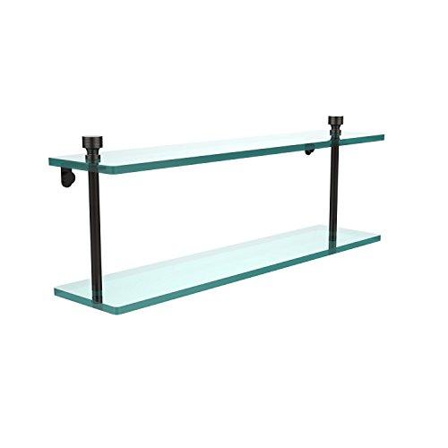 Allied Glass Badezimmer Regal (Allied Brass FT-2/22-ORB 22-Inch Double Glass Shelf by Allied Brass)