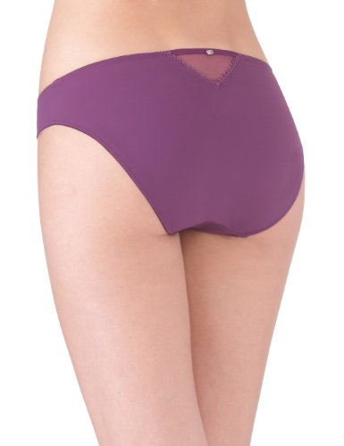 Rosy Damen  täglichTaillenslip, Uni Violett - Violet (Améthyste)