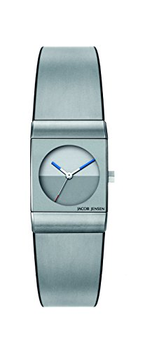 Jacob Jensen Womens Analogue Quartz Watch with Stainless Steel Strap Classic Series 522