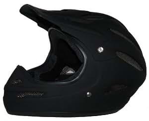 Downhillhelm Freeridehelm BMX Helm Snowboardhelm matt schwarz