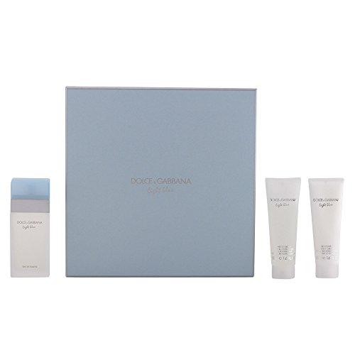 Dolce & Gabbana Light Blue Geschenkset femme/woman, Eau de Toilette Vaporisateur/Spray 50 ml, Bodycreme 50 ml, Duschgel 50 ml, 1er Pack (1 x 150 ml)