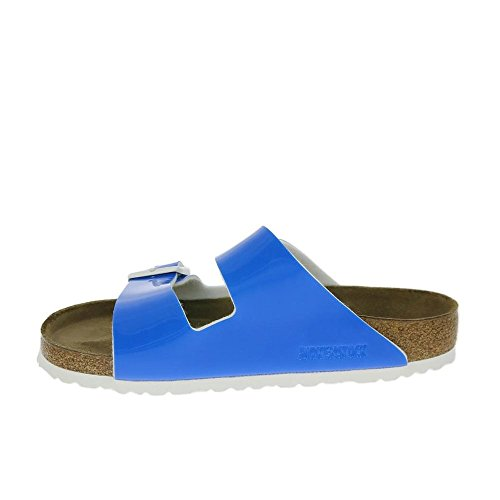 Donna Ciabatte Birkenstock BirkenstockArizona blau Flor Birko 7q41W8Zx