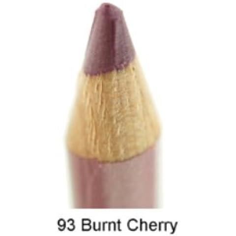 (6 Pack) JORDANA Long Lip Liner Pencil - Burnt
