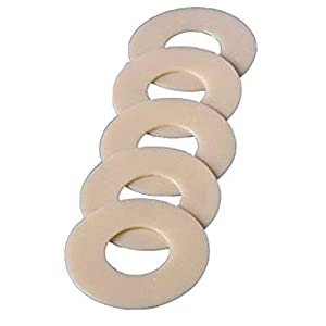 Coloplast Skin Barrier Rings 3/4 Stoma Opening, Soft and Flexible, Ring-shaped Hydrocolloid Barrier (Box of 30 Each) by Coloplast Corp